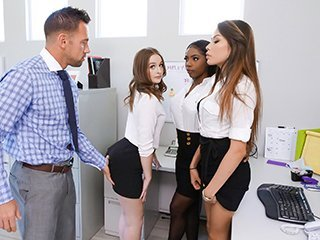 Dani Rivers and Sarah Banks and Sarri Parker Intern Affairs